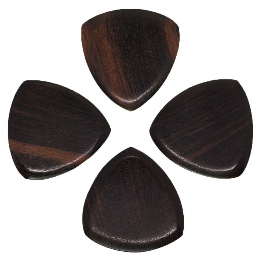 Gypsy Tones - Ebony - 4 Guitar Picks | Timber Tones